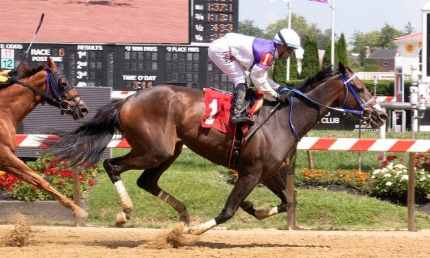 Harpers First Ride wins first of season
