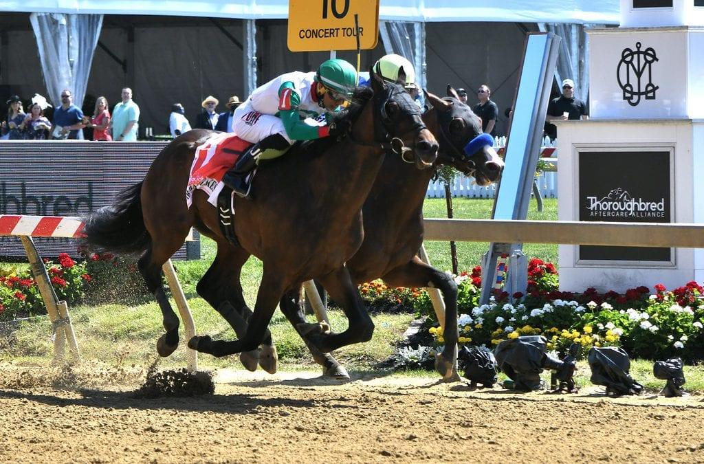 Jockey Jaime Rodriguez making mark at Delaware
