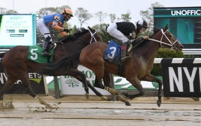 On to Monmouth Oaks for John Servis duo