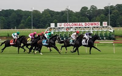 Colonial Downs sets handle mark