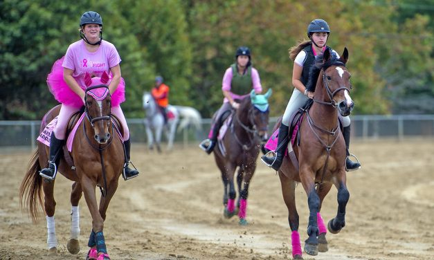 """Over 250 """"Canter for a cause"""""""
