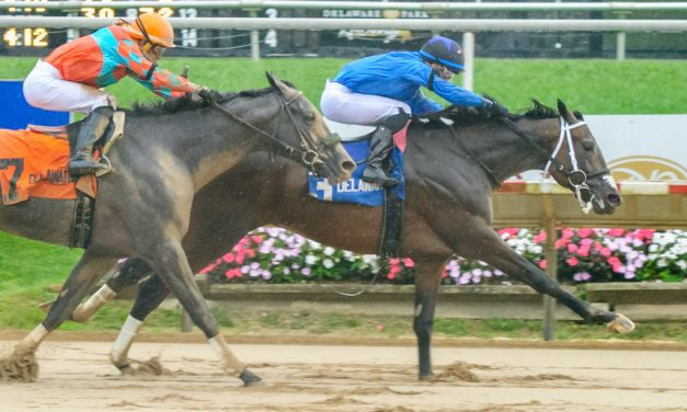 Cooke Creek scores in Rocky Run Stakes