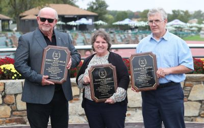 Parx Racing Hall of Fame adds three