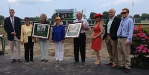 NJ-bred Hall of Fame induction. Photo by The Racing Biz.
