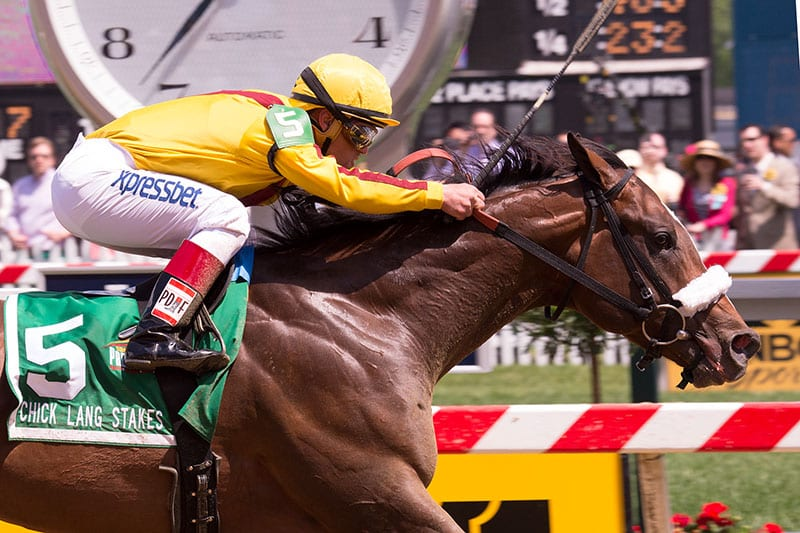 Meadowood takes the Chick Lang Stakes