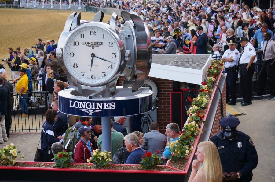 """New Laurel Park timing system """"More accurate"""" than GPS"""