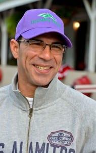 Willie Delgado.  Photo by Mike Kane, Maryland Jockey Club.